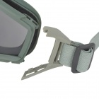 SW2018 Outdoor Sport Shock-Resistant Goggles w/ Replacement Lenses - Army Green
