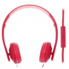 Sibyl y502 Stylish Stereo Headband Headphones w / Microphone - Red (3.5mm Plug / 110cm-Cable)