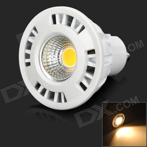 GU10 5W 280lm 3000K 1-COB Warm White Light Spotlight - White (AC 220~240V) husqvarna k 3000 cut n break б у