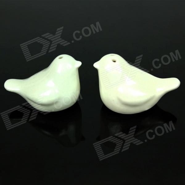 Creative Love Birds Style Spice Jar - White (2 PCS) недорого