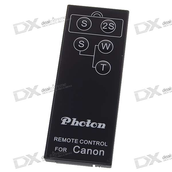 InfraRed IR Shutter Remote for Canon Digital Cameras (1*CR2025)