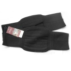 Soft and Elasticity Cashmere Wool Knee Warmer Support Warmer - Black (Pair)