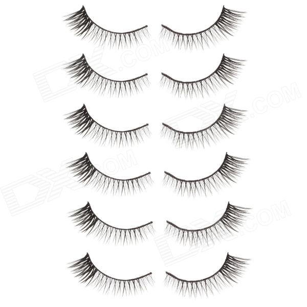 TaylorXuan Fashion Super Flirtatious Black False Eyelashes for Beauty Makeup  (6 Pair) Huntington Beach Prices for the announcement