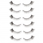 TaylorXuan Fashion Super Flirtatious Black False Eyelashes for Beauty Makeup  (6 Pair)
