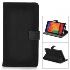 Squirrel Grain Style Protective PU Leather Case for Samsung Galaxy Note 3 N9000 - Black