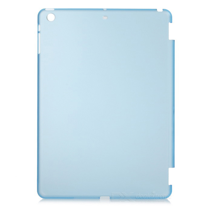 Protective Matte PC Back Case for Ipad AIR - Translucent Blue