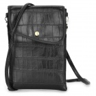 Fashion PU Leather Cross Body Bag for Ipad MINI / Retina Ipad MINI - Black