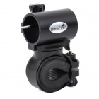 UltraFire LC-3+1 Universal Adjustable Cycling Bike Flashlight Holder - Black