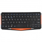 IBK-01 Ultrathin Wireless Bluetooth V3.0 64-Key Keyboard for Cellphone, Tablet, Desktop PC - Black