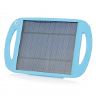 Foldable 2.5W USB Solar Powered Charging Pad - Blue (5V / 500mA)