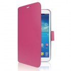 ENKAY ENK-7038 Protective PU Leather Case w/ Stand for Samsung Tab 3 8.0 T310 / T311 - Deep Pink