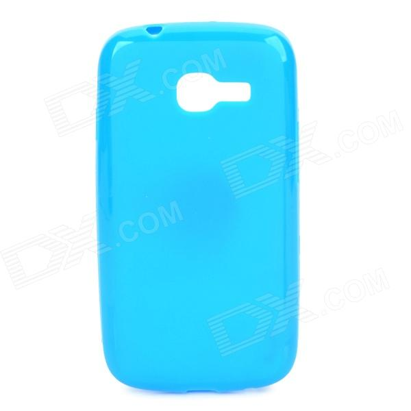 PUDINI LX-7262 Protective TPU Back Case for Samsung S726 Galaxy Star Pro - Blue pudini lx g3812 protective plastic back case for samsung g3812 black