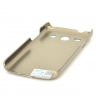 PUDINI LX-G3502U protection PC DOS Etui tendance Samsung Galaxy 3 / G3502U - Champagne Gold