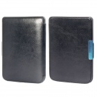 Protective PU Leather Flip Case Cover for POCKETBOOK 515 - Black