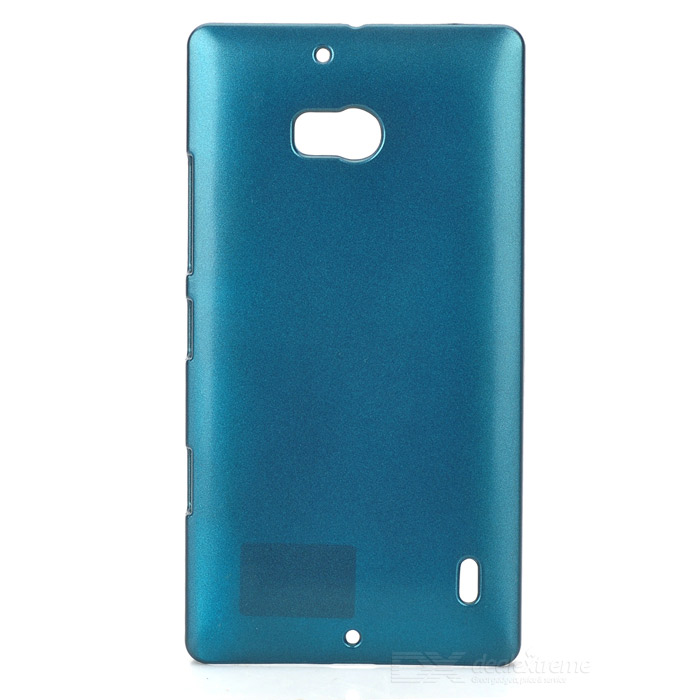 PUDINI LX-929E Protective PC Back Case for Nokia Lumia 929 - Turquoise pudini lx g730 protective pc back case for huawei g730 u00 dark blue