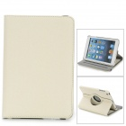 360 Degree Rotation PU Leather Case w/ Auto Sleep for Ipad MINI / Retina Ipad MINI - Beige