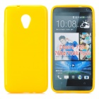 PUDINI LX-700 Protective TPU Back Case for HTC Desire 700 - Yellow