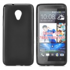 PUDINI LX-700 Protective TPU Back Case for HTC Desire 70 - Black