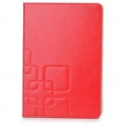 Protective PU Leather Case w/ Stand for Retina Ipad MINI - Red