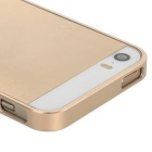 S-What Ultra-thin 0.68mm Aluminum Alloy Protective Bumper Frame for Iphone 5 / Iphone 5S - Golden