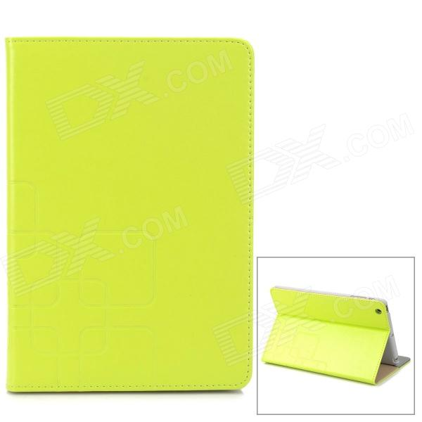Stylish Protective PU Leather + PC Case for Retina Ipad MINI - Green