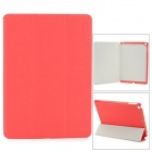 Protective PU Leather + PC Case for Ipad AIR - Red