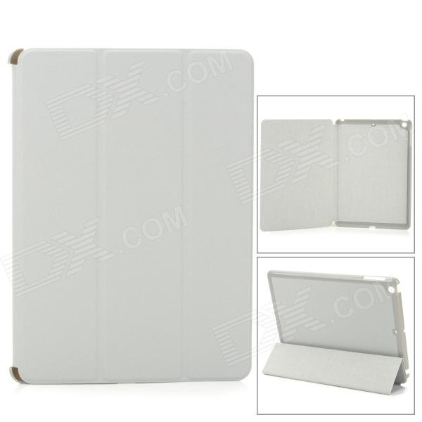 Protective PU Leather + PC para Ipad AIR - Gris