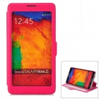 CHOICE-FUN CHOF-015 Protective PU Leather Case for Samsung Galaxy Note 3 - Deep Pink