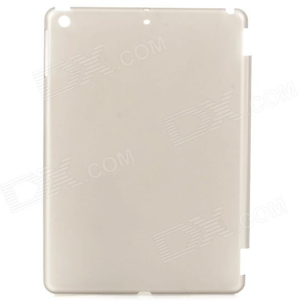Simple Protective PC Back Case for Ipad AIR - Translucent Grey