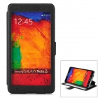CHOICE-FUN CHOF-015 Protective PU Leather Case for Samsung Galaxy Note 3 - Black