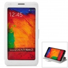 CHOICE-FUN CHOF-015 Protective PU Leather Case for Samsung Galaxy Note 3 - White