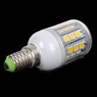LY E14 5W 180lm 3000K 27-5050 SMD LED Lámpara Blanca Caliente - Blanco + Amarillo + Multicolor (AC 220V)