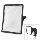Universal Nylon Flashlight Softbox for DSLR - white + Black + Silver + Pink (15 x 17cm)