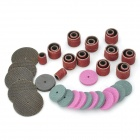 CMT Mini Portable Electric Grinder Accessory Set - Multicolored (161 PCS)