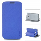 PUDINI LX-3502U Protective PU Leather Case for Samsung Galaxy Trend 3 G3502U - Blue