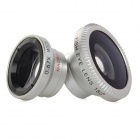3-in-1 0.67X Wide Angle + Macro + Fish Eye Lens Set for iPhone / Samsung / HTC / Sony + More