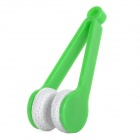 MY-06 Plastic Convenient Lens Cleaner for Glasses - Green + White