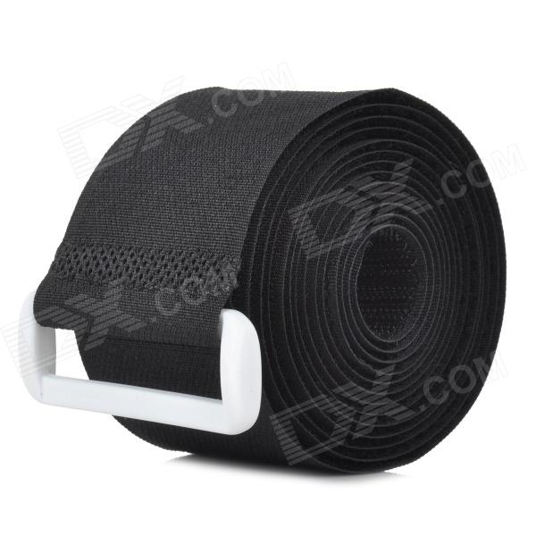 Multifunction Nylon Velcro Strap / Band - Black (Length-180cm)