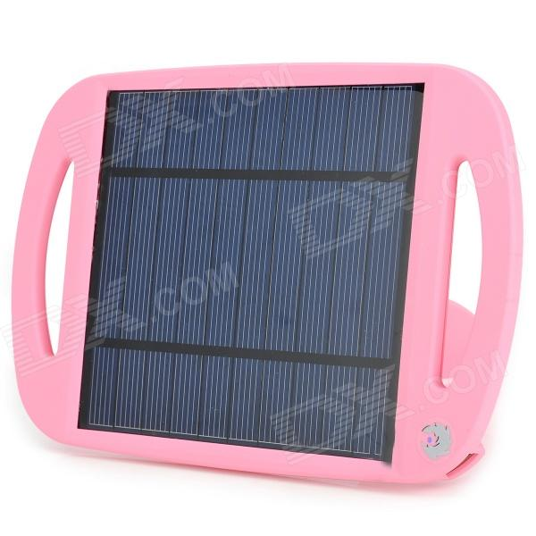 Stand Style USB 2.5W Solar Charging Pad - Pink