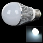 BE RUI BR-QPXQP 5W E27 180lm 7500K 1-LED White Light Bulb - Weiß + Silber