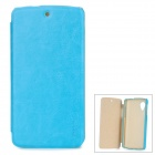 PUDINI LX-GN5 Protective PU Leather + PC Case for LG Nexus 5 - Blue