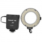 Amaran AHL-HC100 6W 600LM 5500K Macro Ring LED Flashlight for Canon - Black (4 x AA)