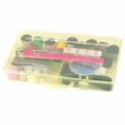 HQS-G107449 Convenient Sewing Thread / Needle Set w/ Carrying Suitcase Set