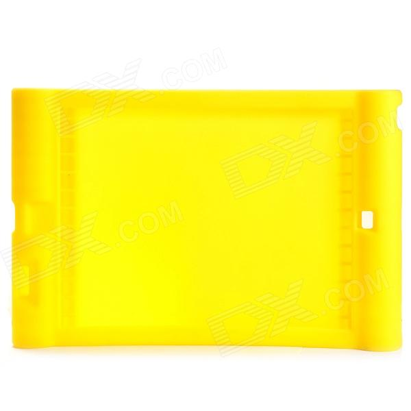 Anti-shock Protective Silicone Back Case for Ipad AIR - Yellow