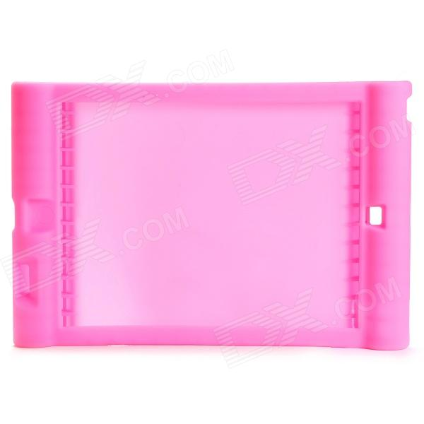 Anti-shock Protective Silicone Back Case for Ipad AIR - Pink