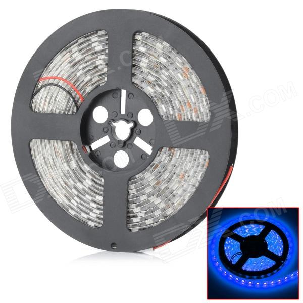HML Waterproof 72W 455nm Chemy 300 x SMD 5050 LED Blue Light LED Strip (12V / 5m) zdm waterproof 72w 200lm 470nm 300 smd 5050 led blue light strip white grey dc 12v 5m