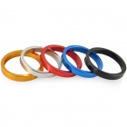 HZDZ Q-5 Bicycle Aluminum Alloy Gasket Washer - Silver + Black + Blue + Red + Golden (5 PCS)