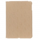 Fashion Ultra Thin Flip Open Protective PU Ledertasche w / Auto-Wake-up / Sleep-AIR für Ipad - Khaki