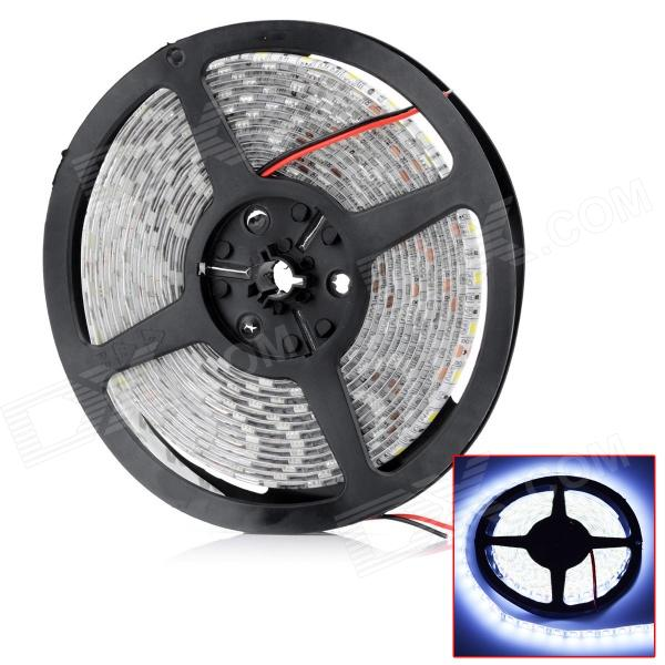 HML Waterproof  72W 5800lm 6500K Chemy 300 x SMD 5050 LED White Light LED Strip (12V / 5m) zdm waterproof 72w 200lm 470nm 300 smd 5050 led blue light strip white grey dc 12v 5m