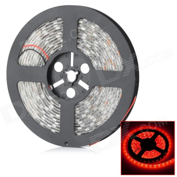 HML Waterproof 72W 650nm Chemy 300 x SMD 5050 LED Red Light LED Strip (12V / 5m) zdm waterproof 72w 200lm 470nm 300 smd 5050 led blue light strip white grey dc 12v 5m